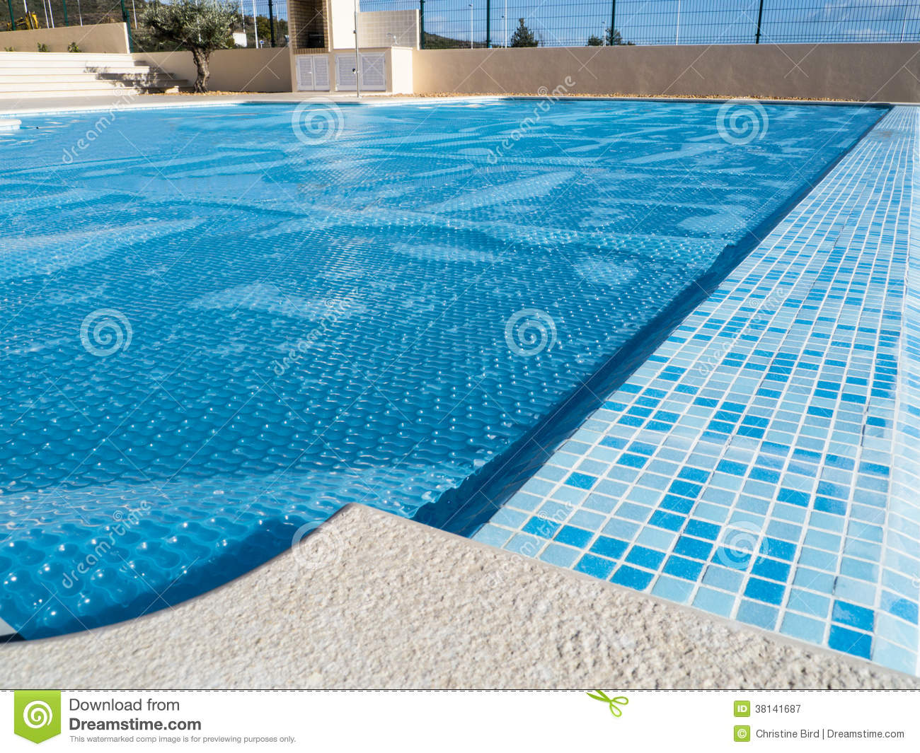 Swimming Pool Cover Royalty Free Stock Photography Image 38141687