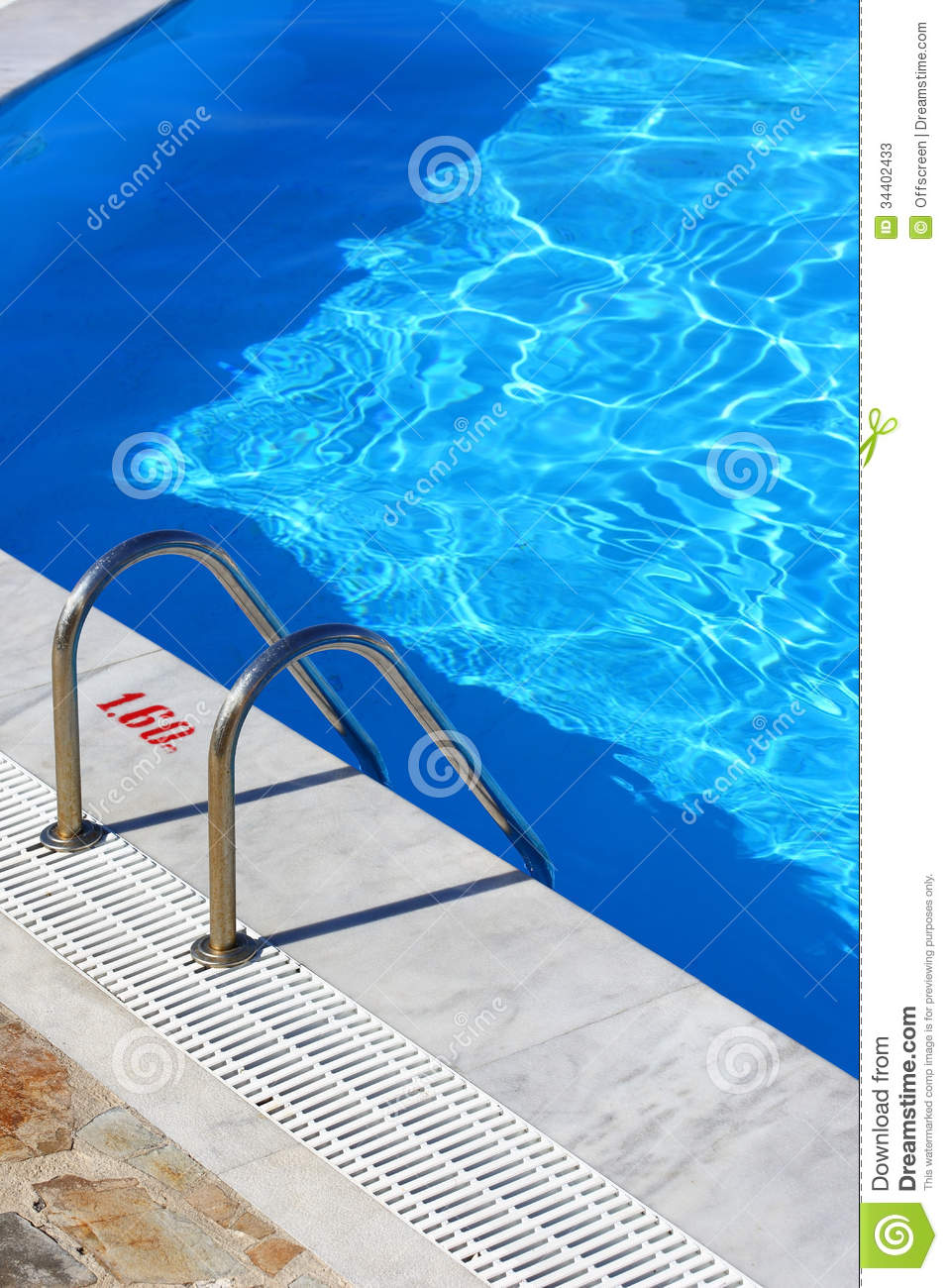Swimming pool stock photos image 34402433 - Waterford crystal swimming pool times ...