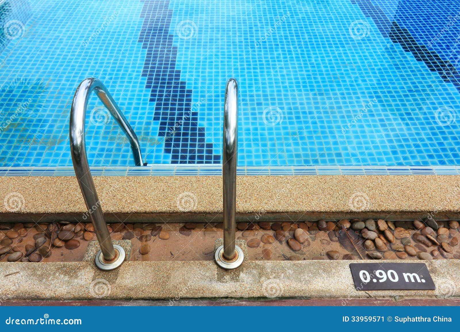Swimming Pool Depth Marker Stock Image Image 33959571