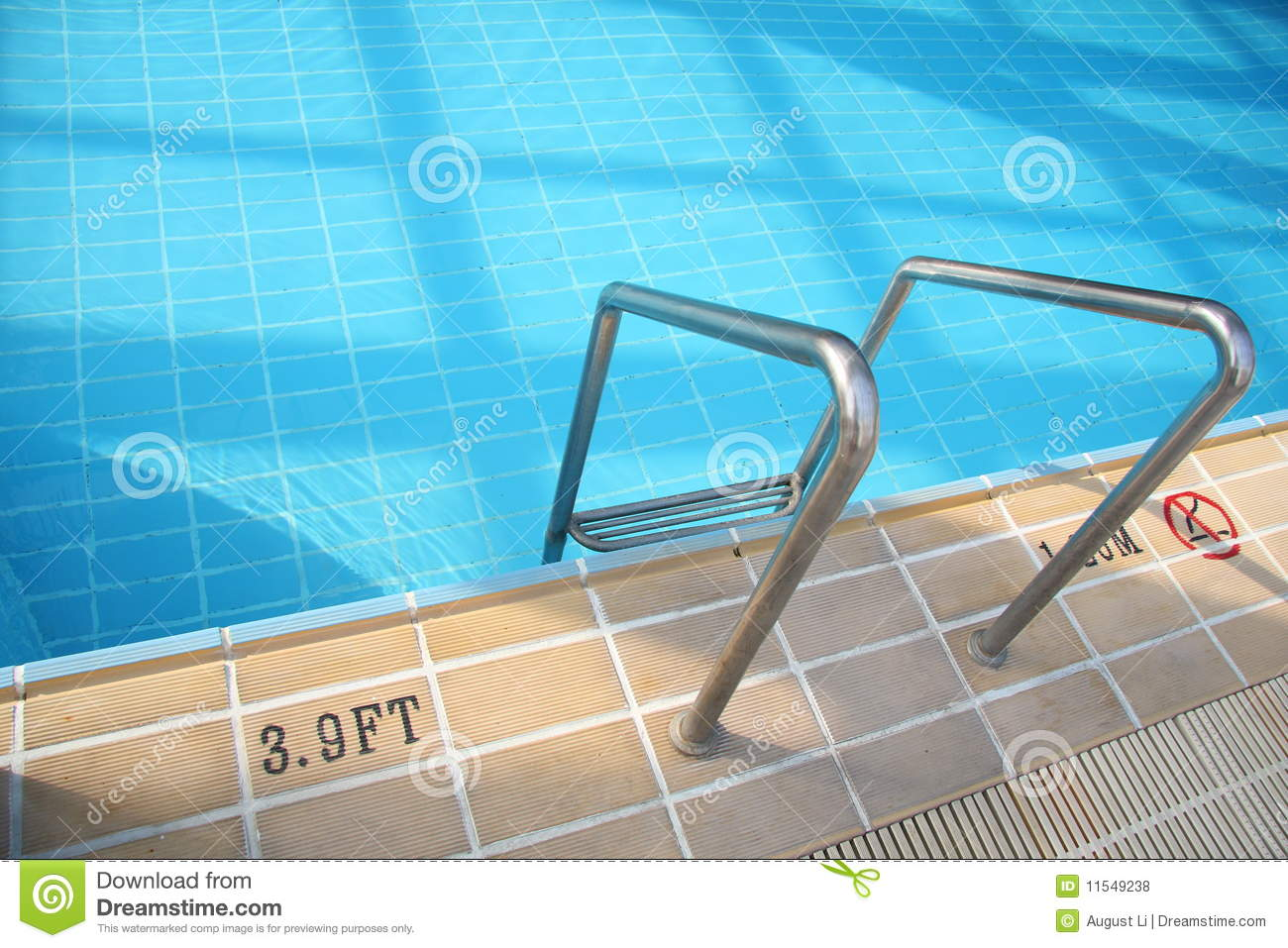 Swimming Pool And Depth Marking Stock Photo Image 11549238