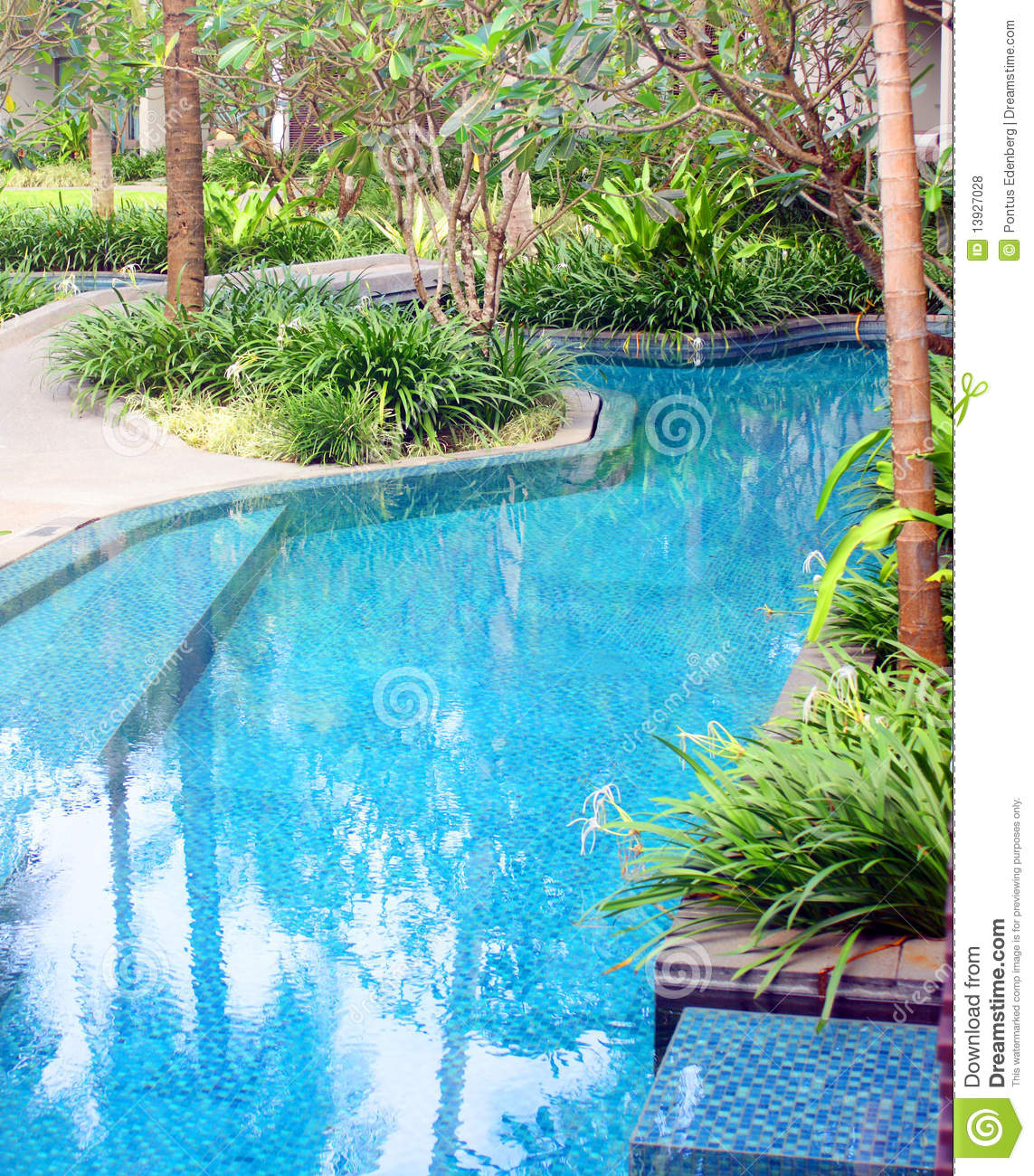 Swimming pool edge royalty free stock photos image 13927028 for Pool garden edging