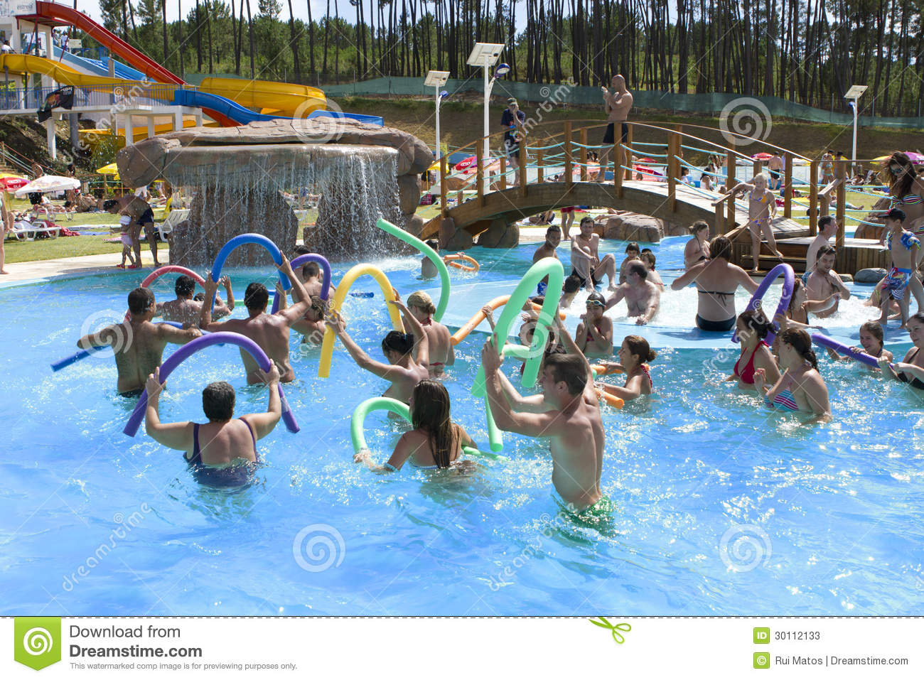 Water aerobics editorial stock photo image 30112133 - Get a swimming pool full of liquor ...