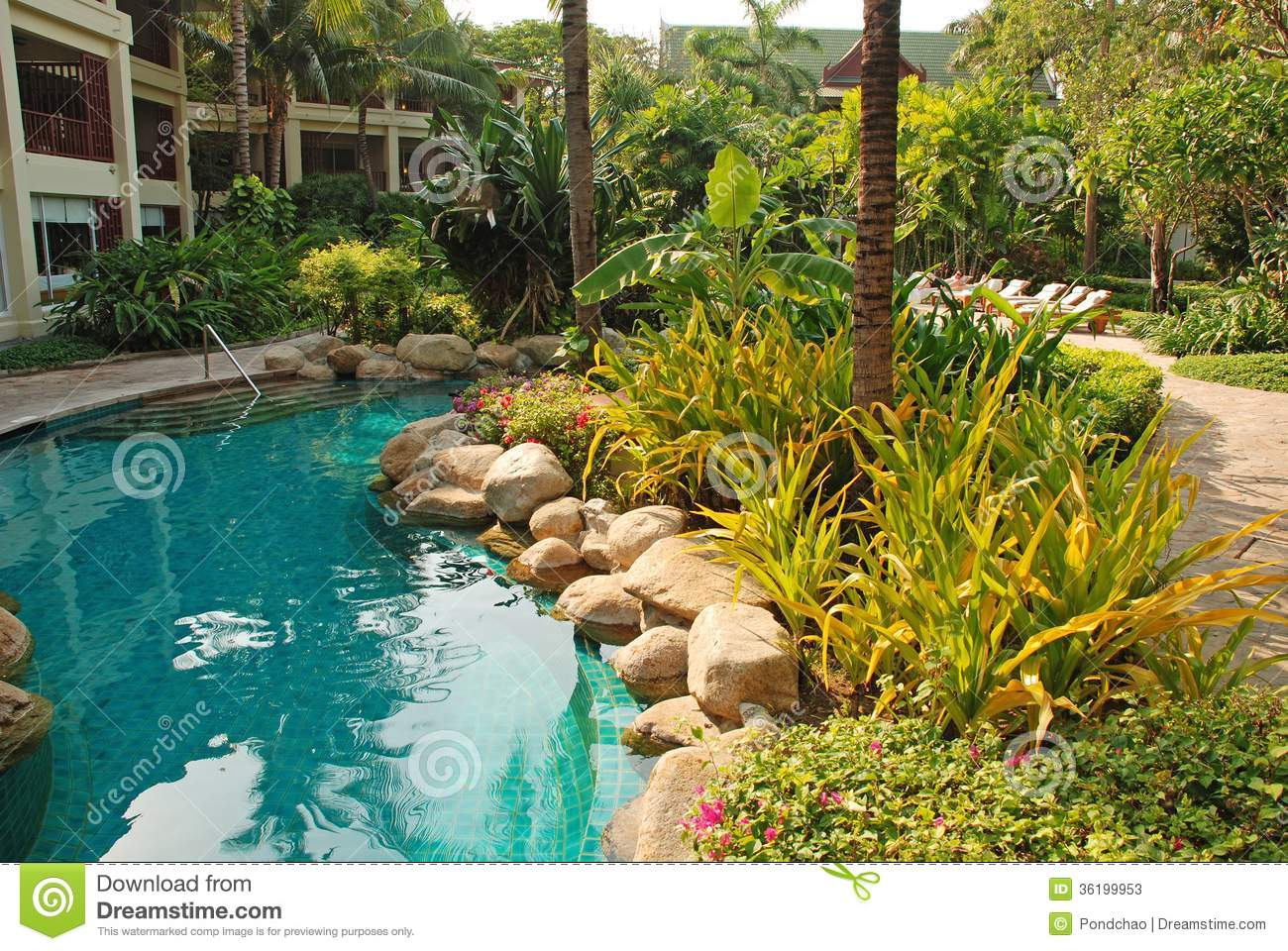 Swimming pool stock photos image 36199953 for Garden city pool jobs