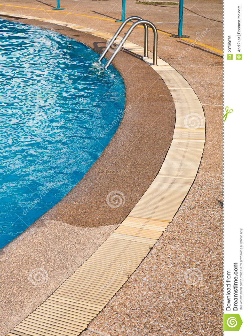 Swimming Pool Gutter Royalty Free Stock Photo Image 20735675