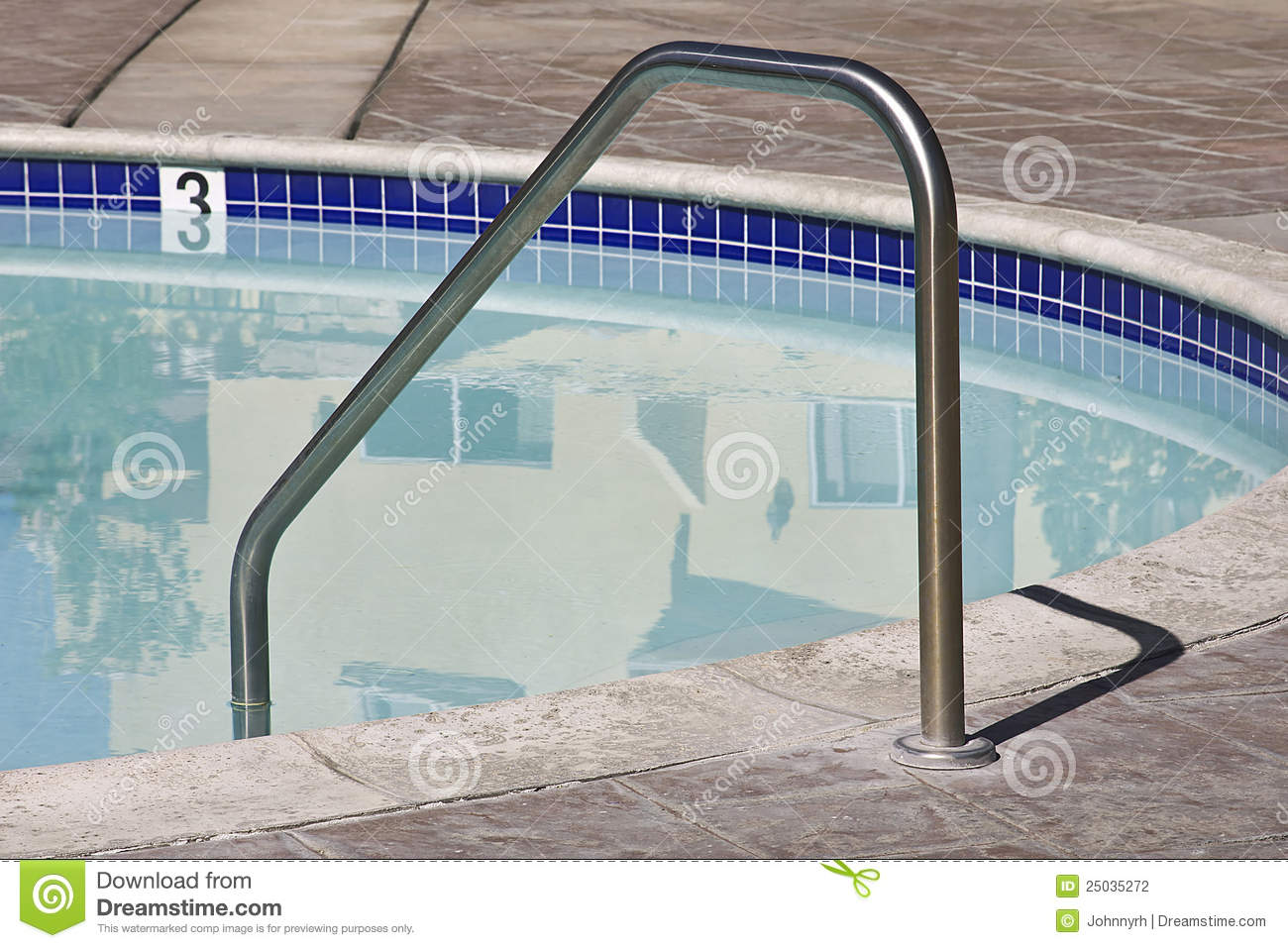 Swimming pool handle stock photo image of cool blue for Pool time pools
