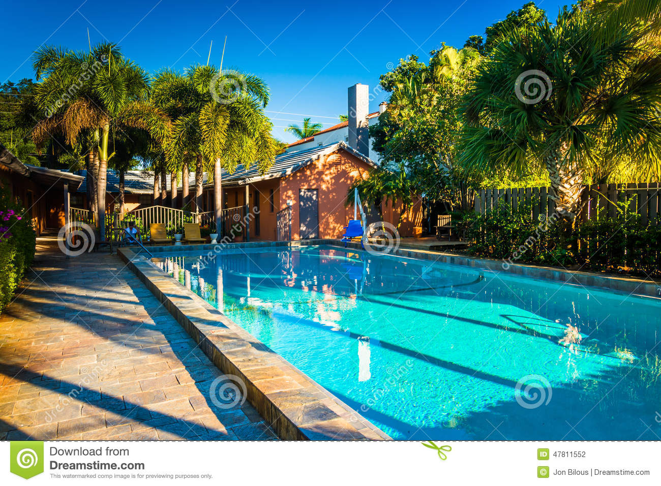 Swimming Pool At A Hotel In West Palm Beach Florida Editorial Photography Image 47811552