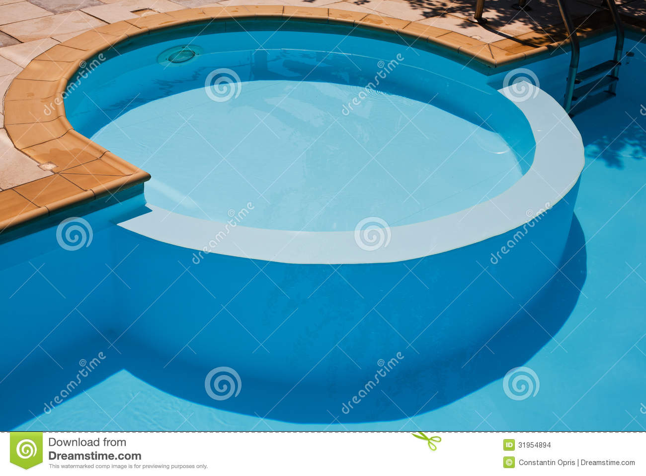 Swimming pool for kids stock photo image of clean detail for Pool time pools