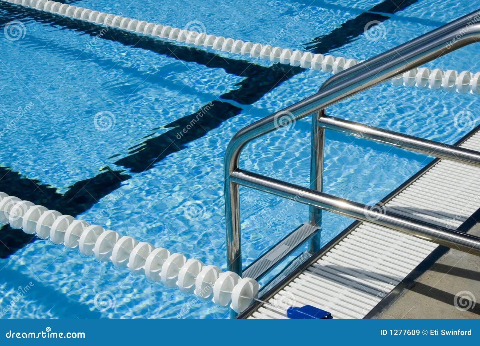Swimming Pool Ladder Royalty Free Stock Images Image 1277609
