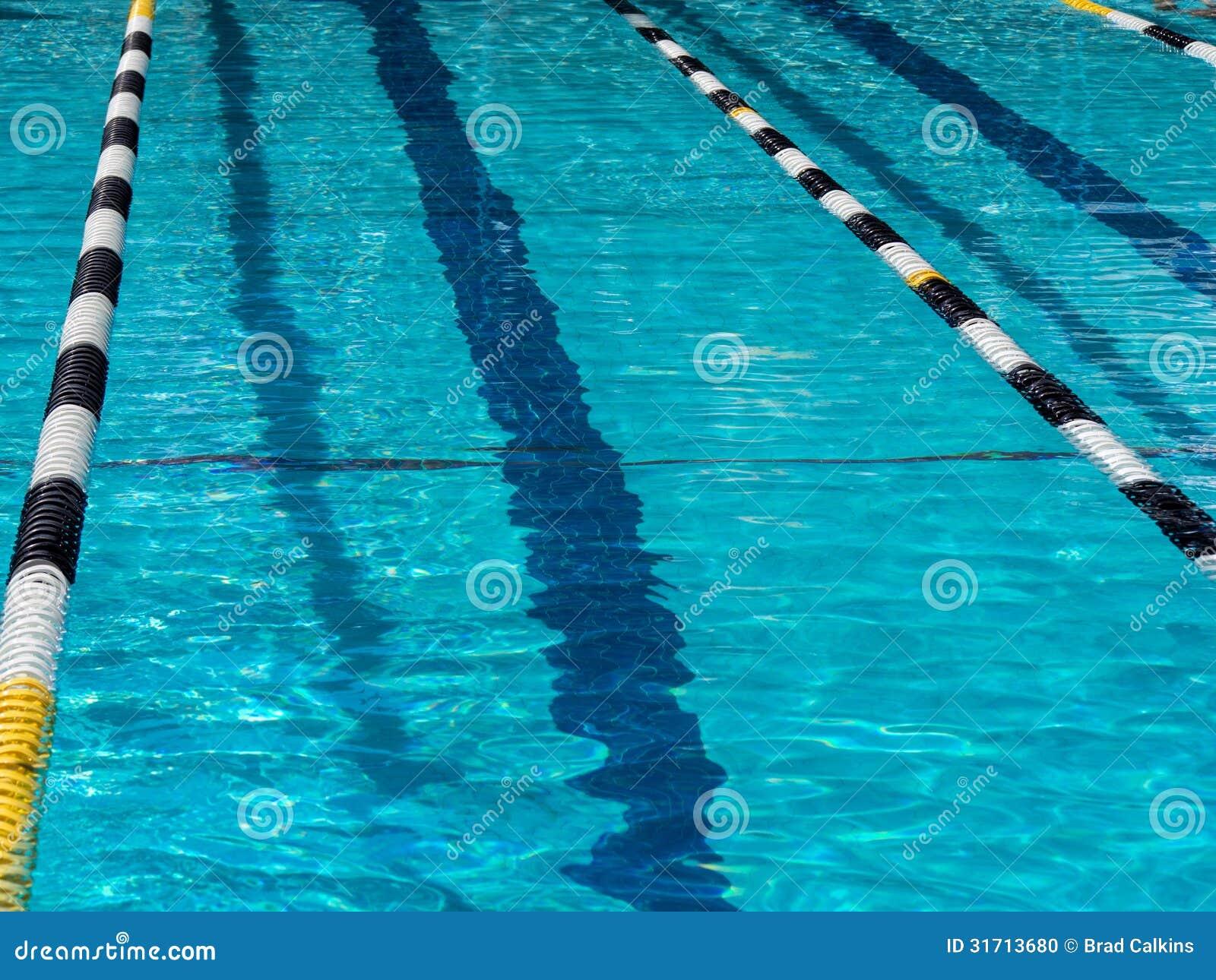 Swimming Pool Lane Lines Background swimming pool lane stock photo - image: 31713680