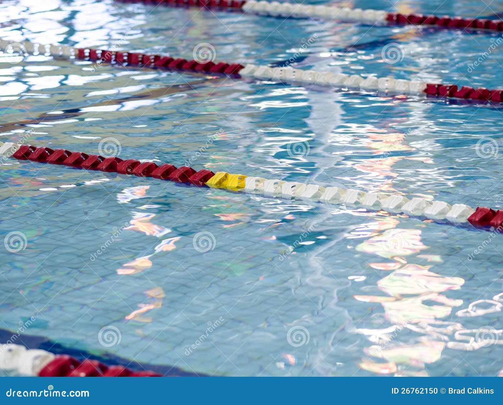 Swimming Pool Lane Ropes Stock Photo Image Of Sports