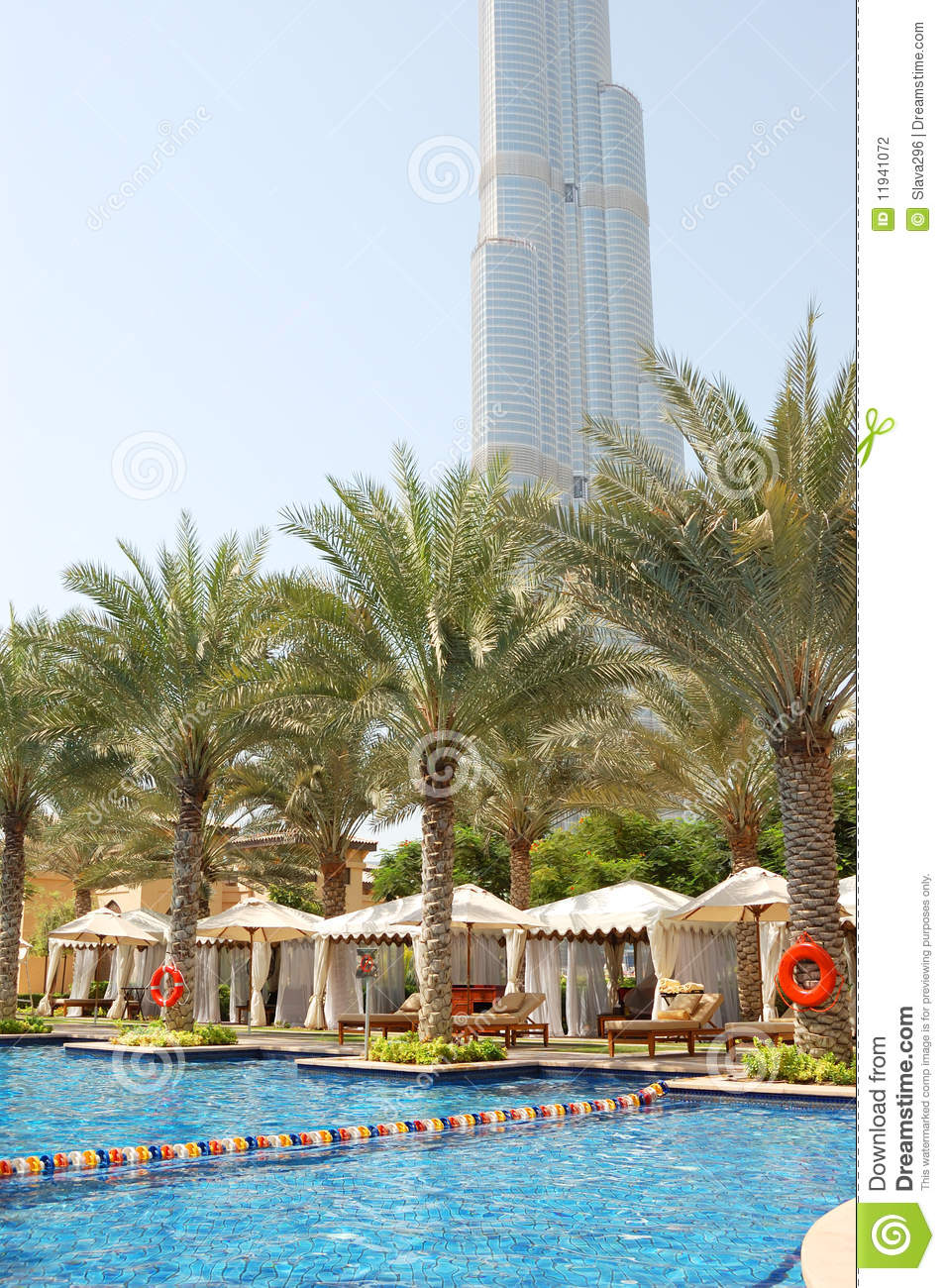 Swimming Pool At Luxury Hotel Stock Photography Image 11941072