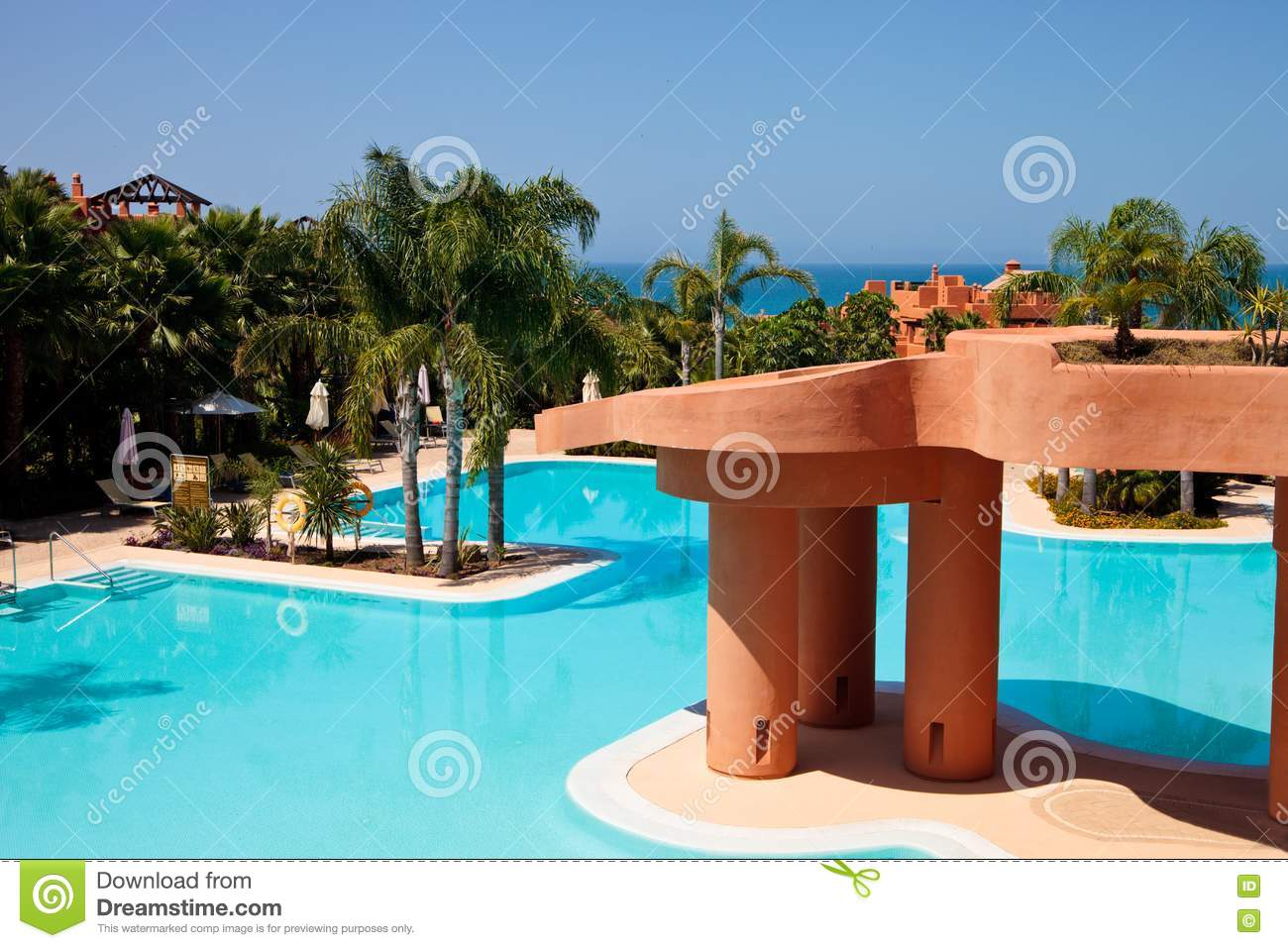 Swimming Pool In Luxury Hotel Stock Photos Image 20514623
