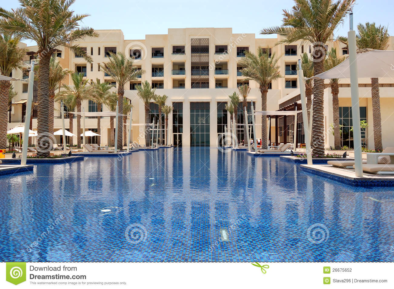 Swimming Pool Of The Luxury Hotel Stock Photography Image 26675652