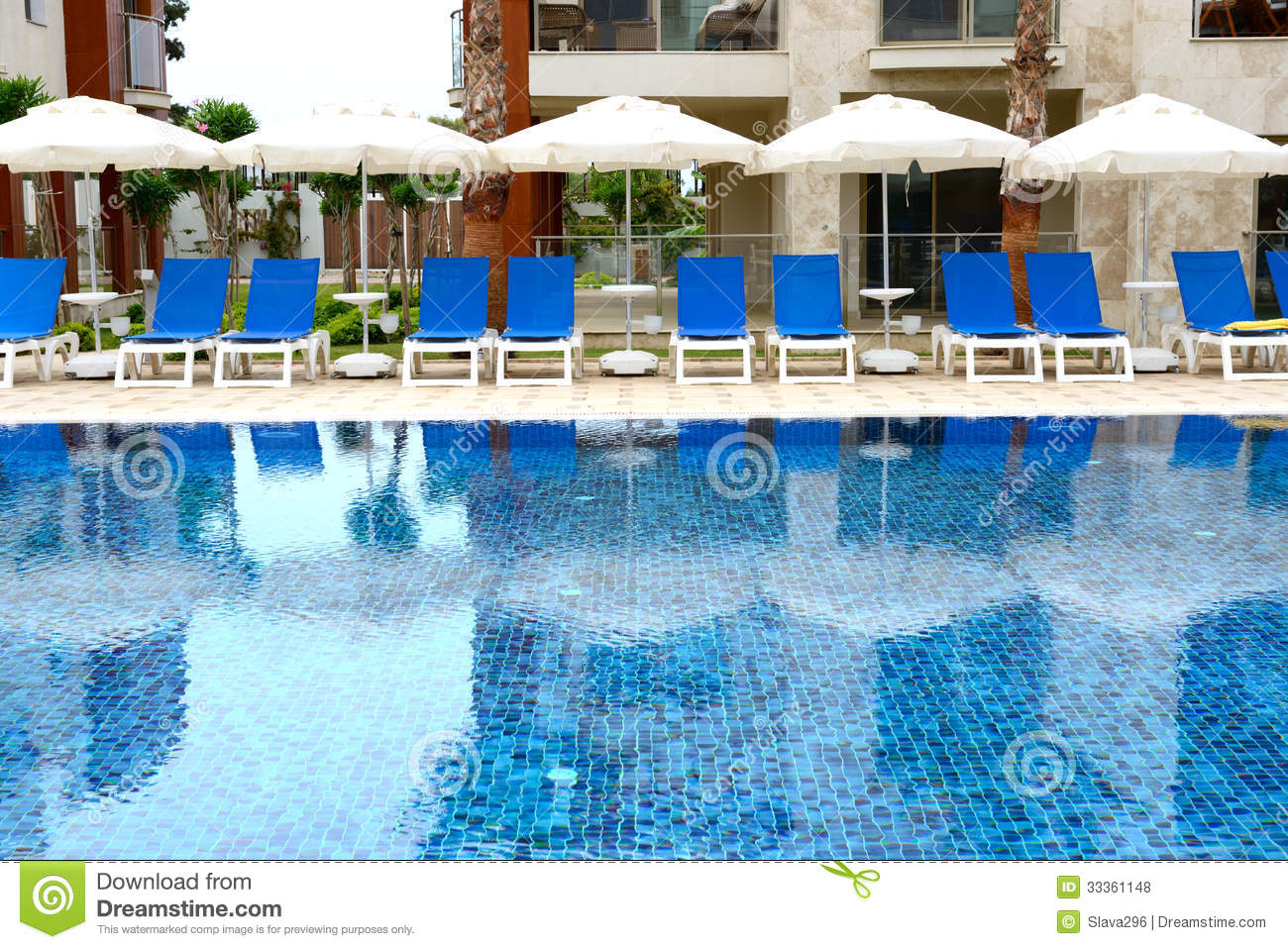 Swimming Pool At Luxury Hotel Royalty Free Stock Photos Image 33361148