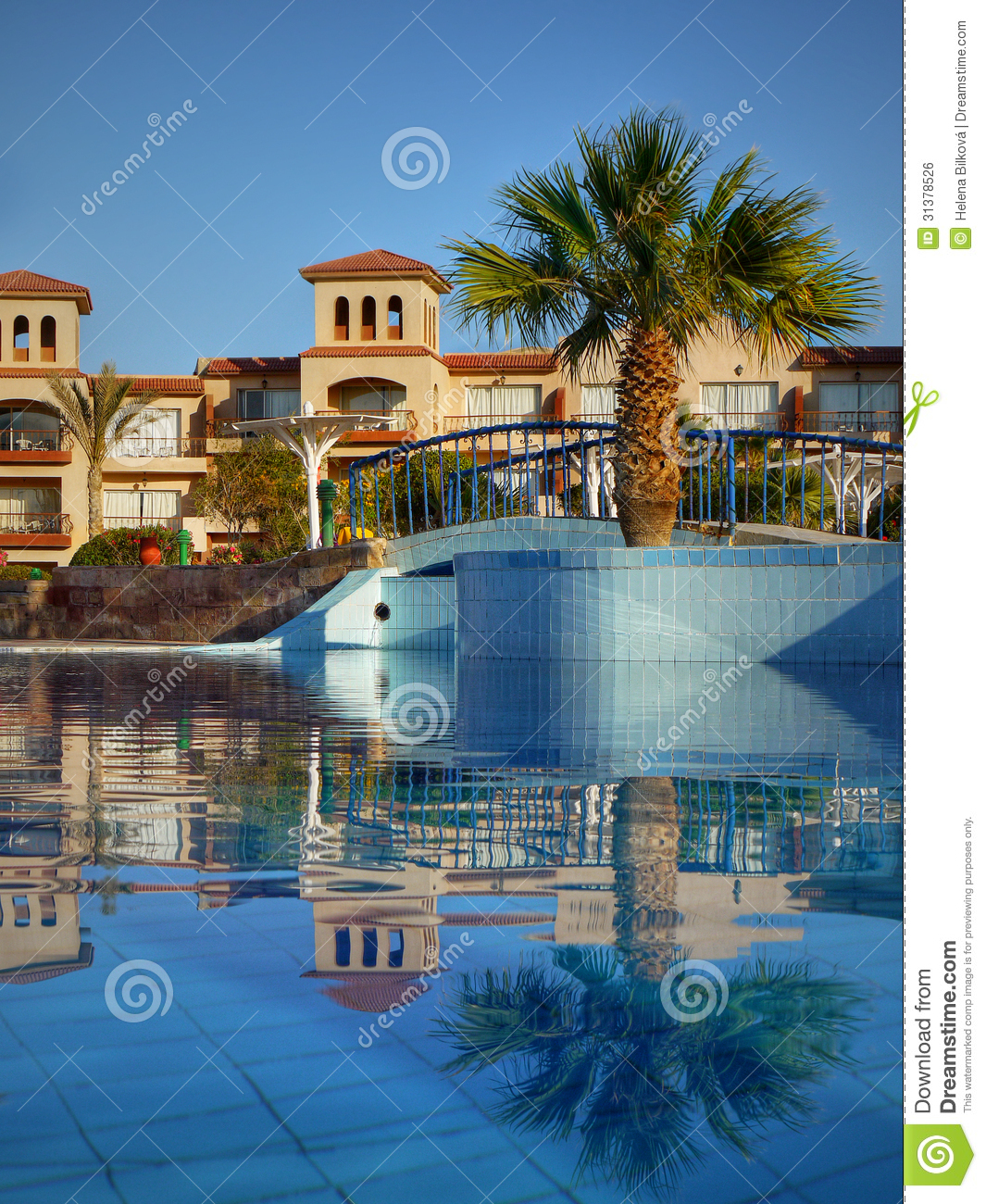 Swimming Pool Luxury Hotel Complex Egypt Royalty Free Stock Image Image 31378526