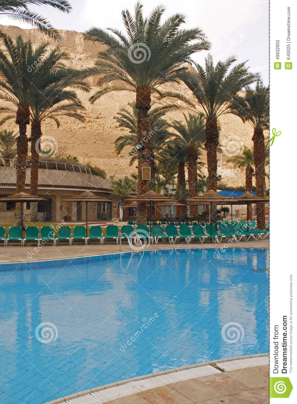 Swimming Pool In Luxury Hotel Stock Photo Image 49632950
