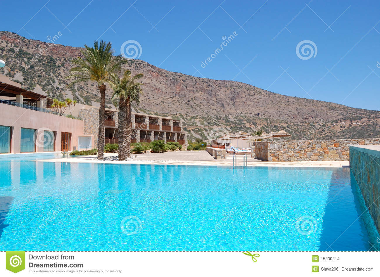 Swimming Pool At The Modern Luxury Hotel Stock Images Image 15330314