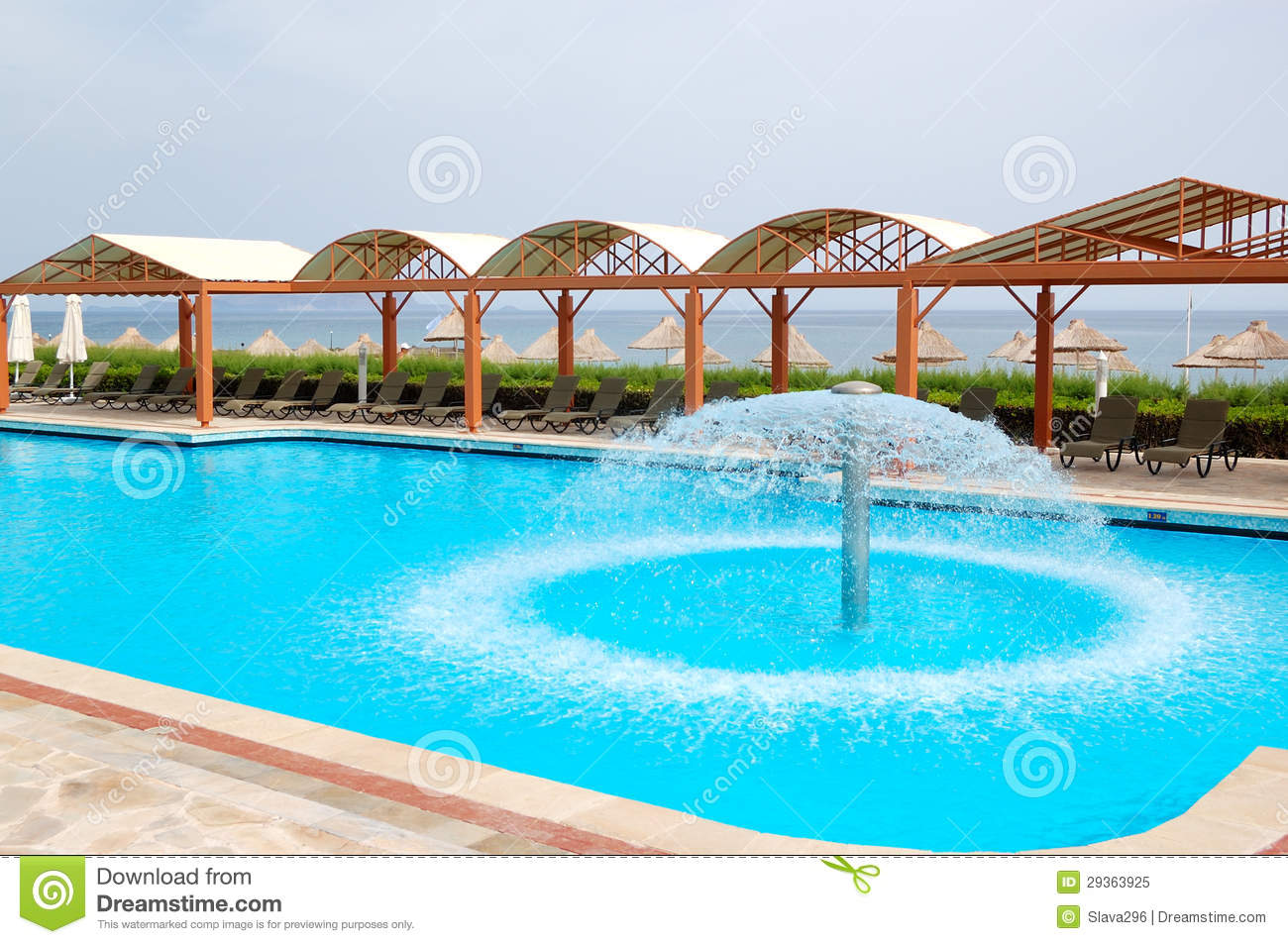 Swimming pool near beach at luxury hotel royalty free stock photo image 29363925 Where can i buy a swimming pool near me