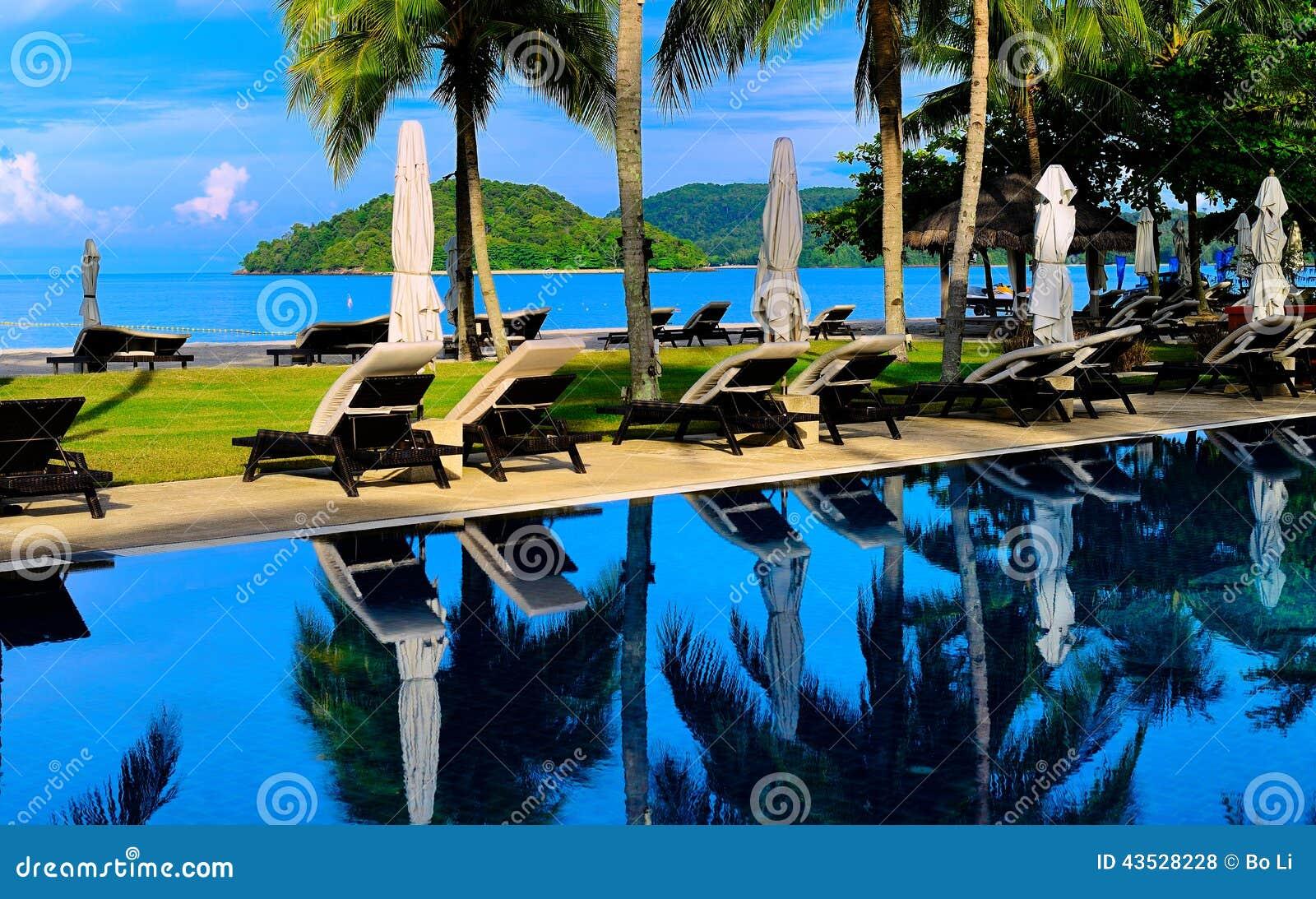 Swimming Pool Stock Photo Image 43528228