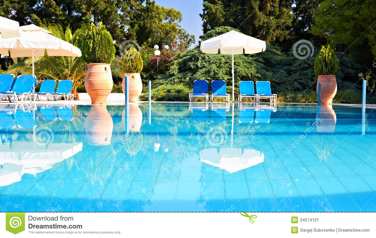 Swimming pool stock image image 34574121 - An open air swimming pool crossword clue ...