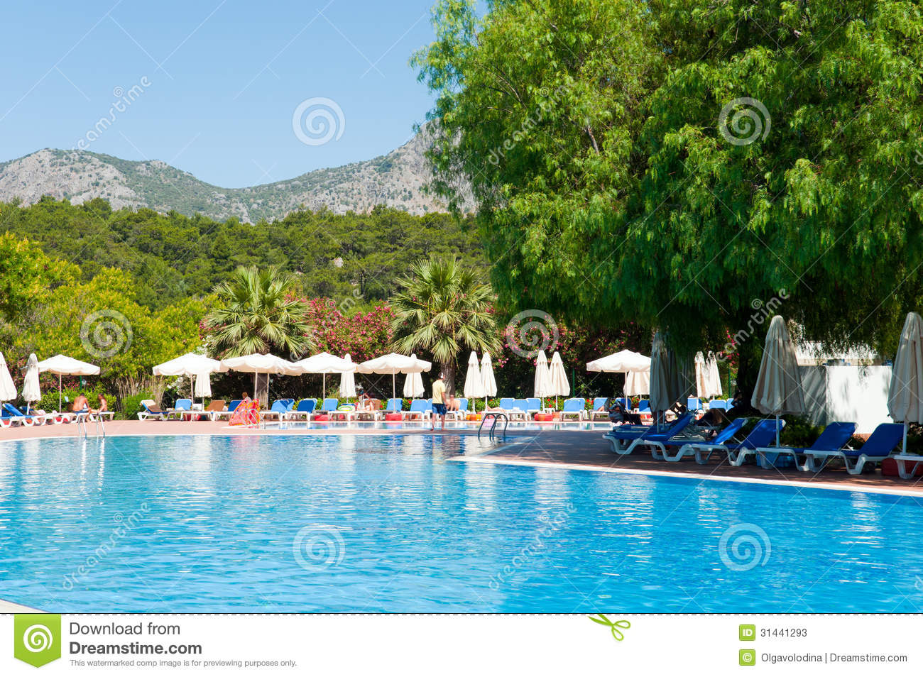 Swimming Pool In Open Air Turkey Stock Photos Image 31441293