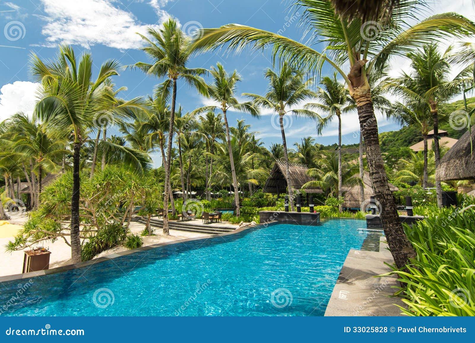 Swimming Pool In Resort Royalty Free Stock Photos Image