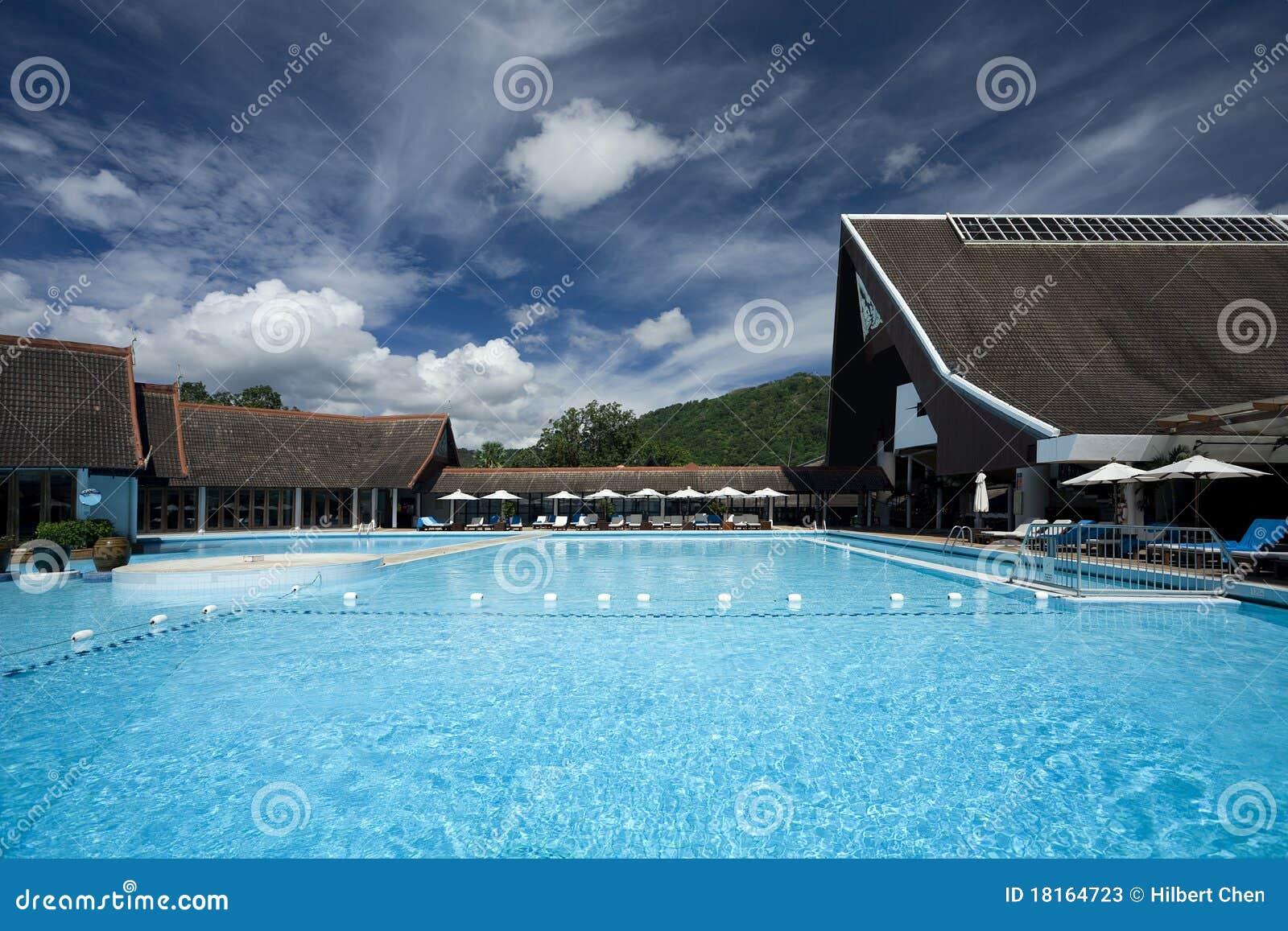 swimming pool resort in phuket stock photos   image 18164723