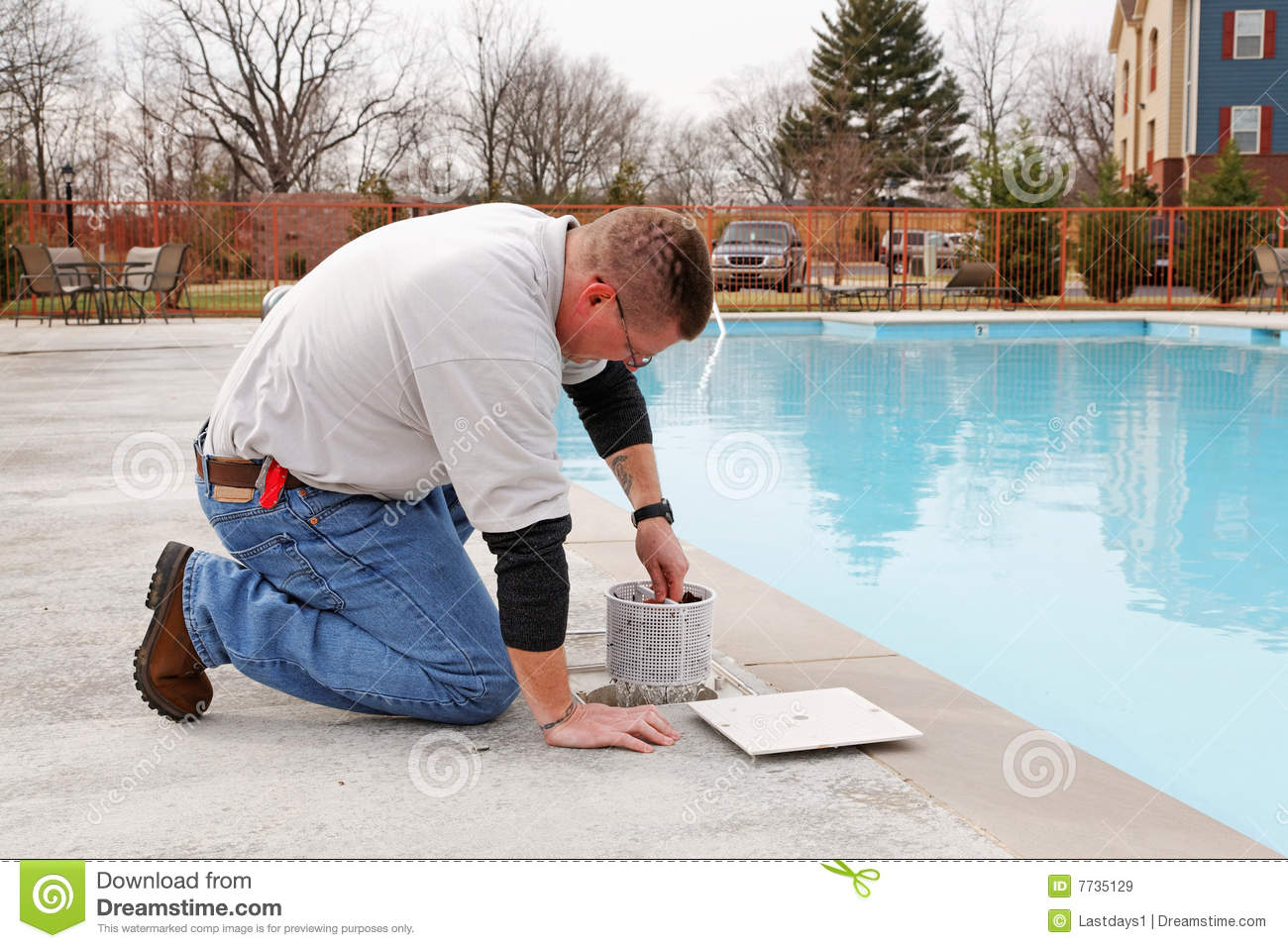 Swimming pool service stock image image of chemicals 7735129 for Swimming pool cleaning chemicals list
