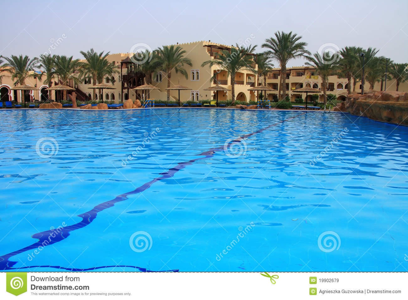 Royalty Free Stock Images Swimming Pool In Sharm El Sheikh Image 19902679