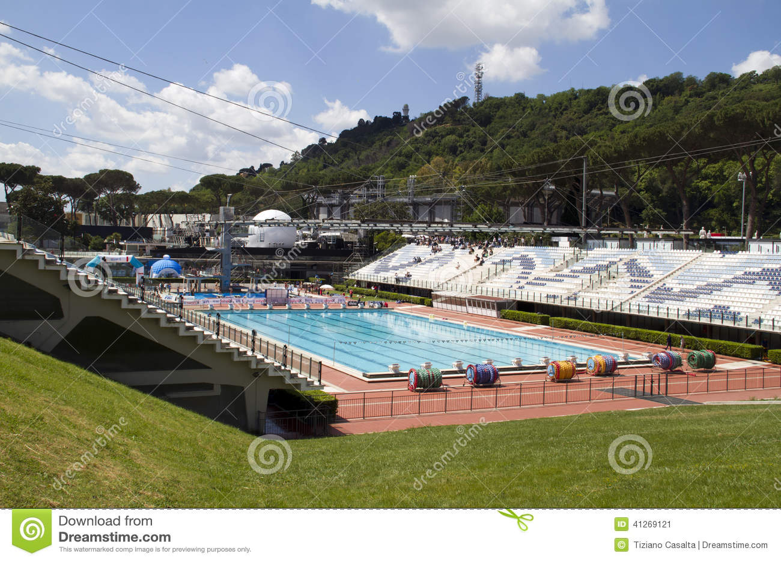 Swimming Pool Stadium Editorial Photo Image Of Sport 41269121