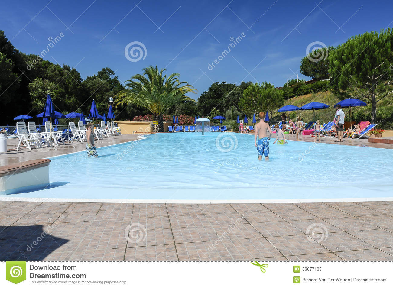 Camping place in holland 2015 editorial image - Campsites in holland with swimming pool ...