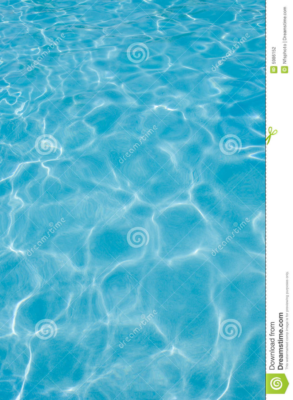 Swimming Pool Water Surface, Sunlight Reflections Stock ...