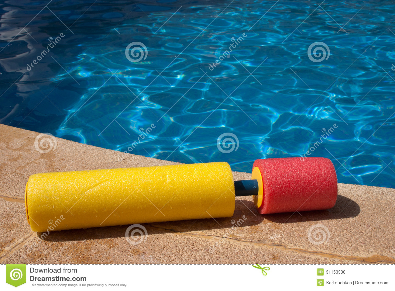 Swimming Pool Water Toy 3 Stock Photo Image 31153330