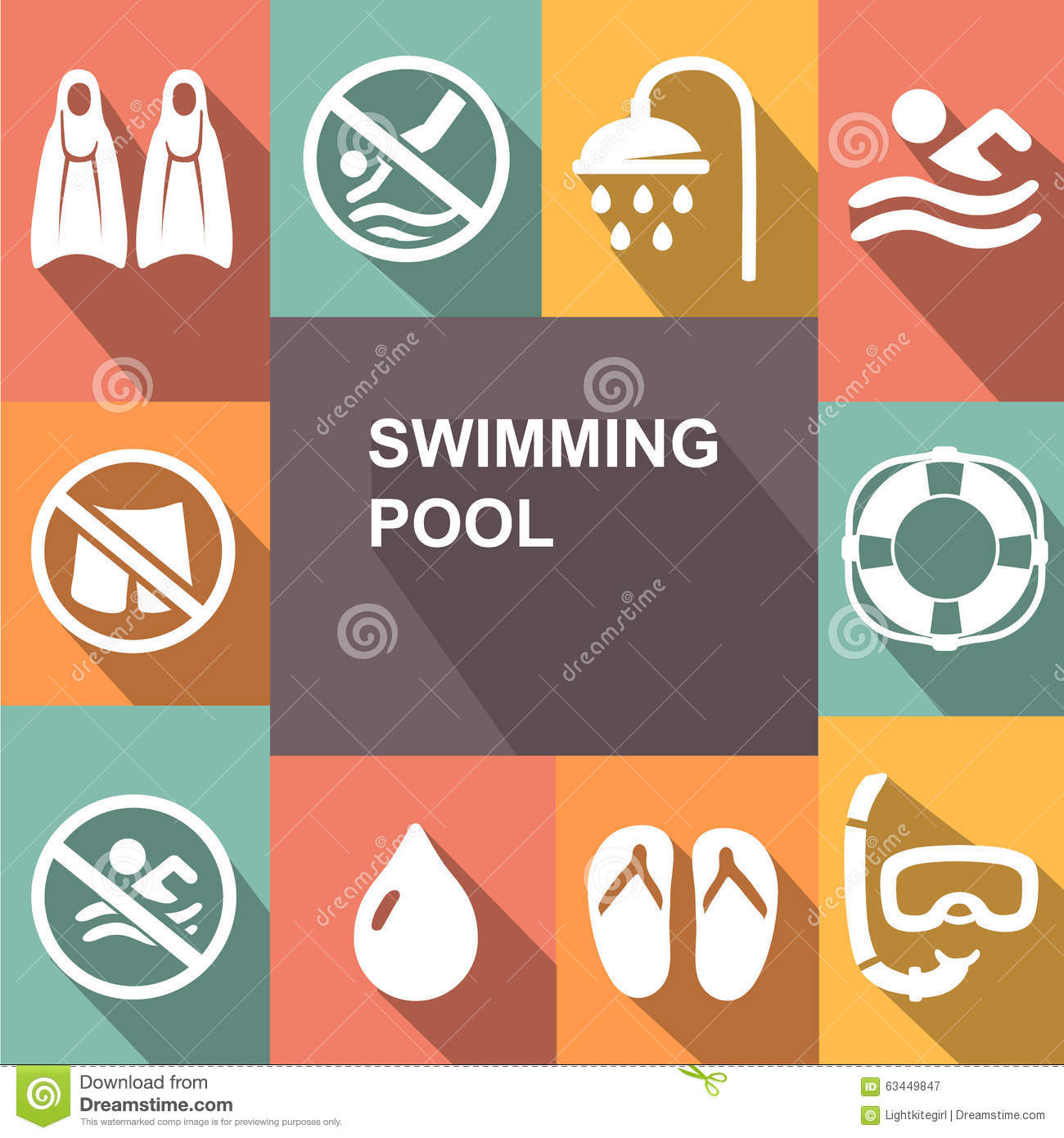 Swimming Pool Cleaning Symbols : Hydrotherapy cartoons illustrations vector stock images