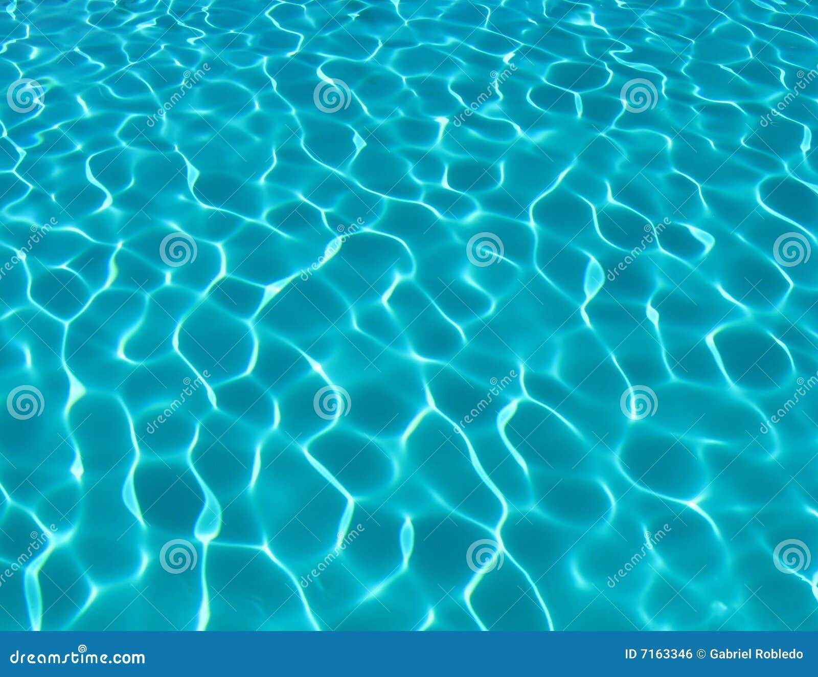 Swimmingpool Wasser Lizenzfreies Stockbild Bild 7163346