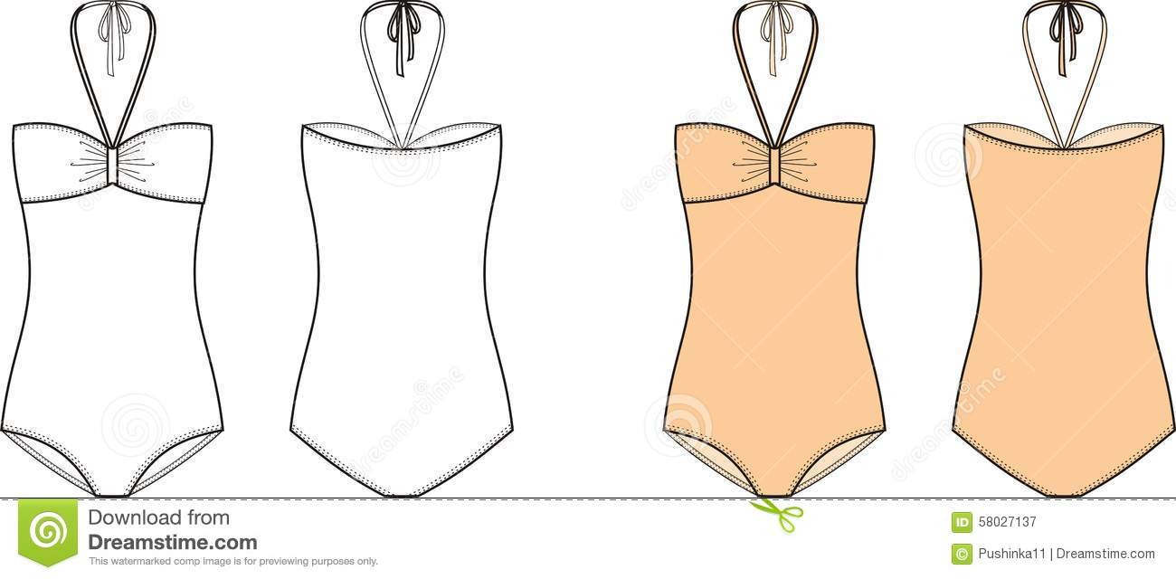 Swimsuit Stock Vector - Image: 58027137