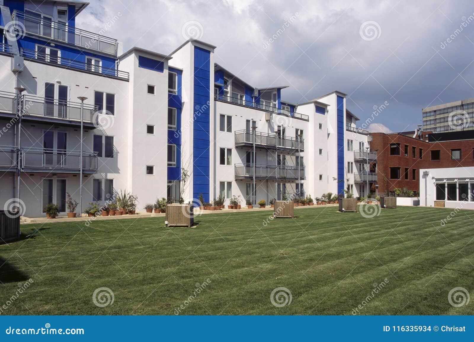 Swindon apartment block
