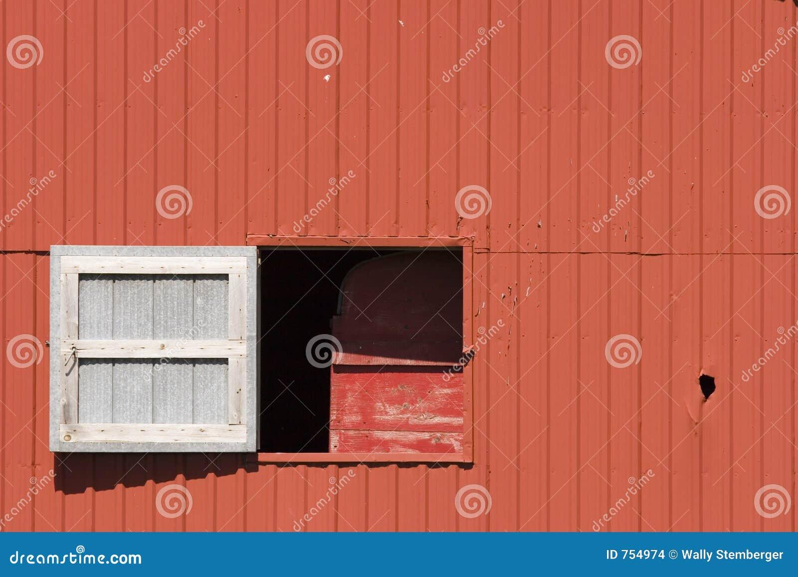 swing window on barn stock images image 754974