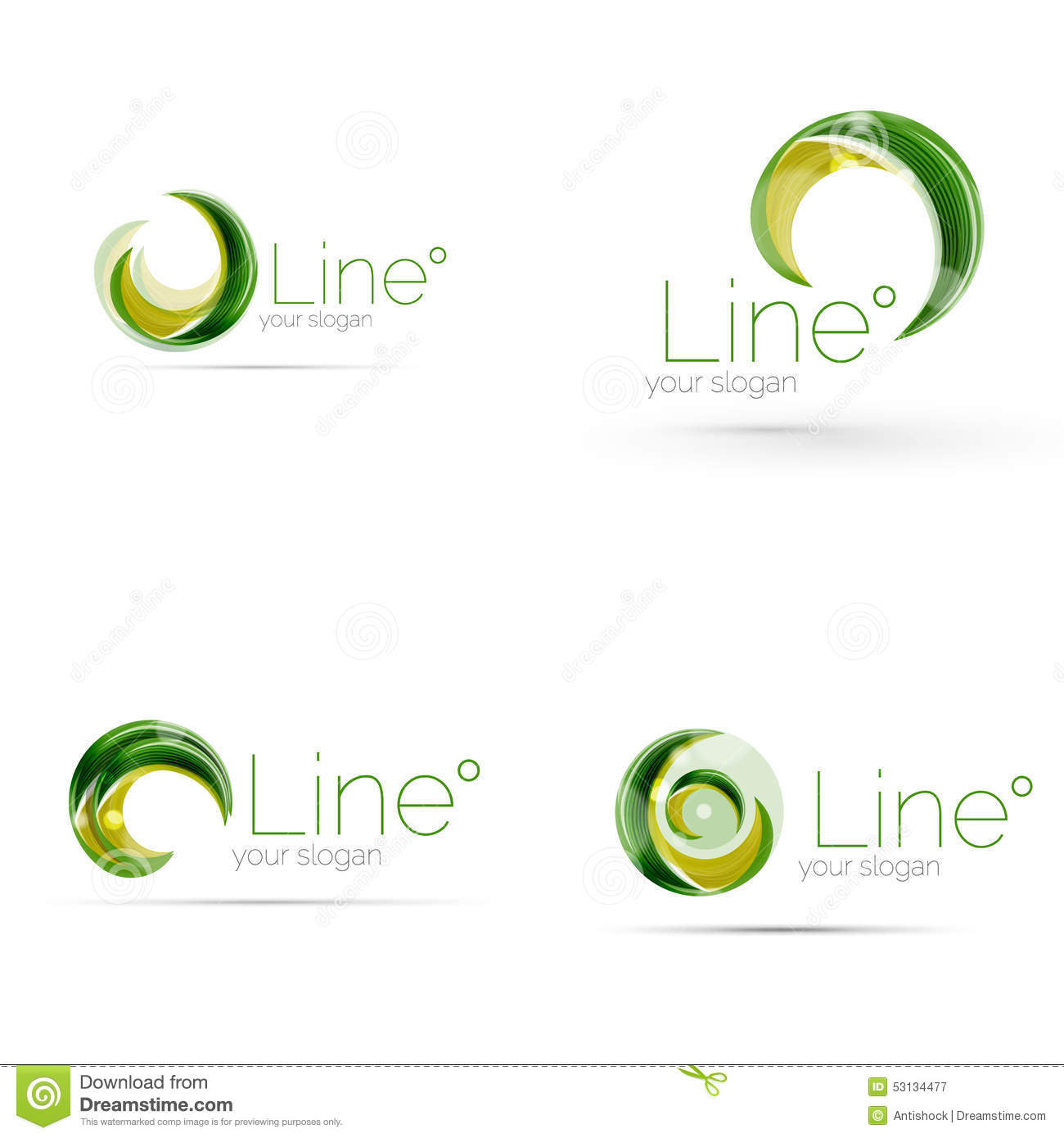 swirl company logo design - Business Logo Design Ideas