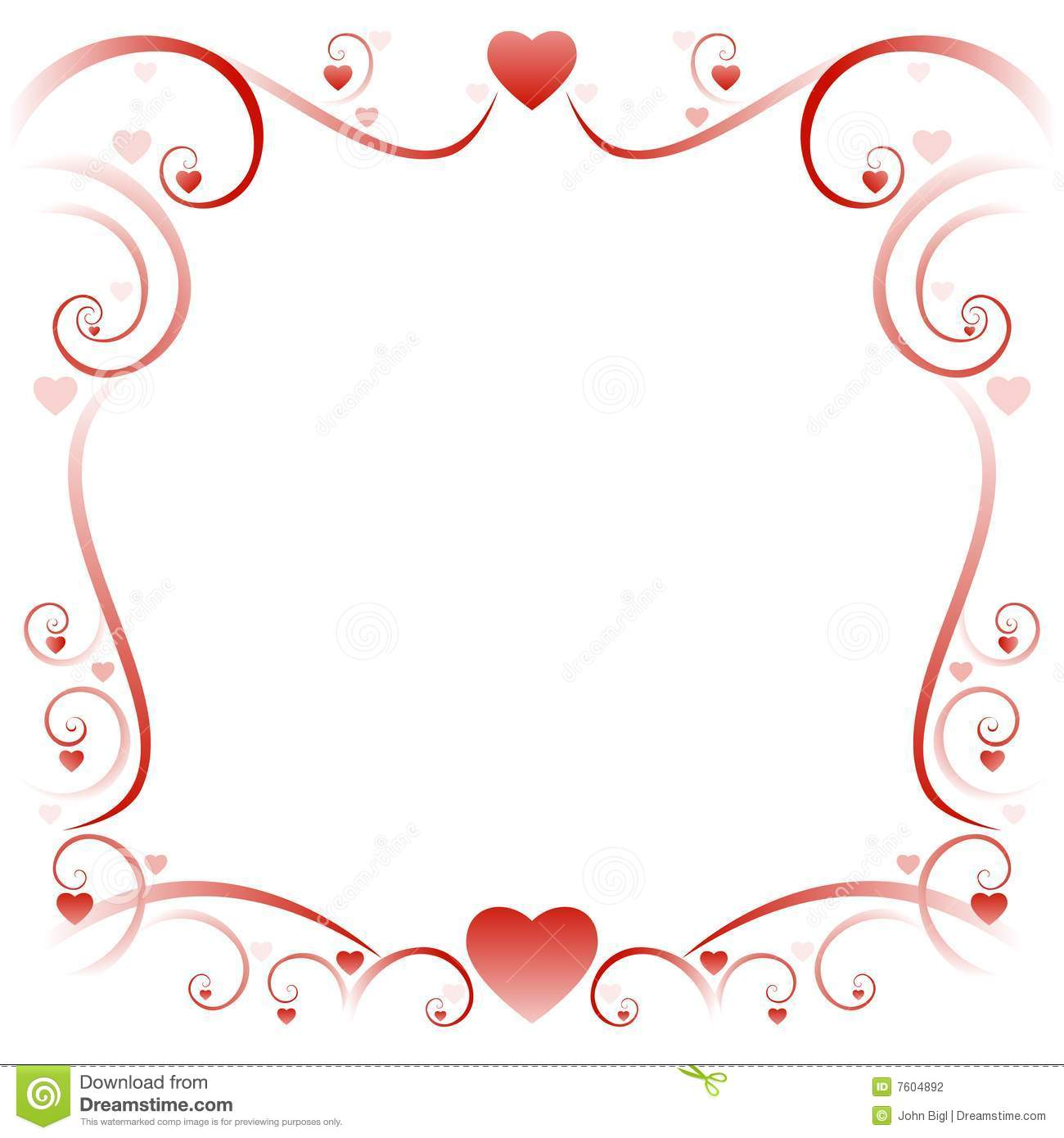 More similar stock images of ` Swirly love border 01 `