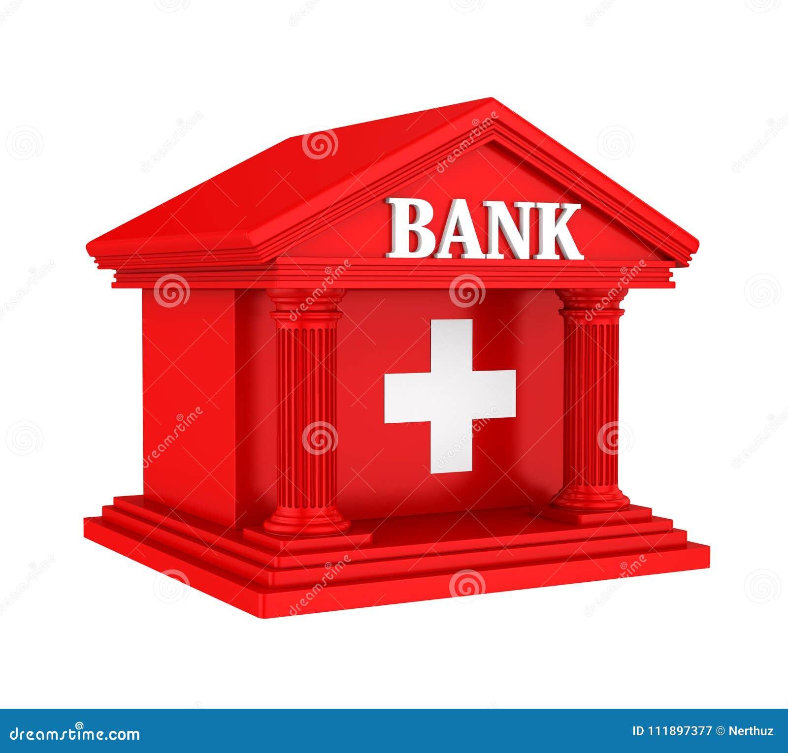 Swiss bank building isolated stock illustration illustration of royalty free stock photo buycottarizona Image collections