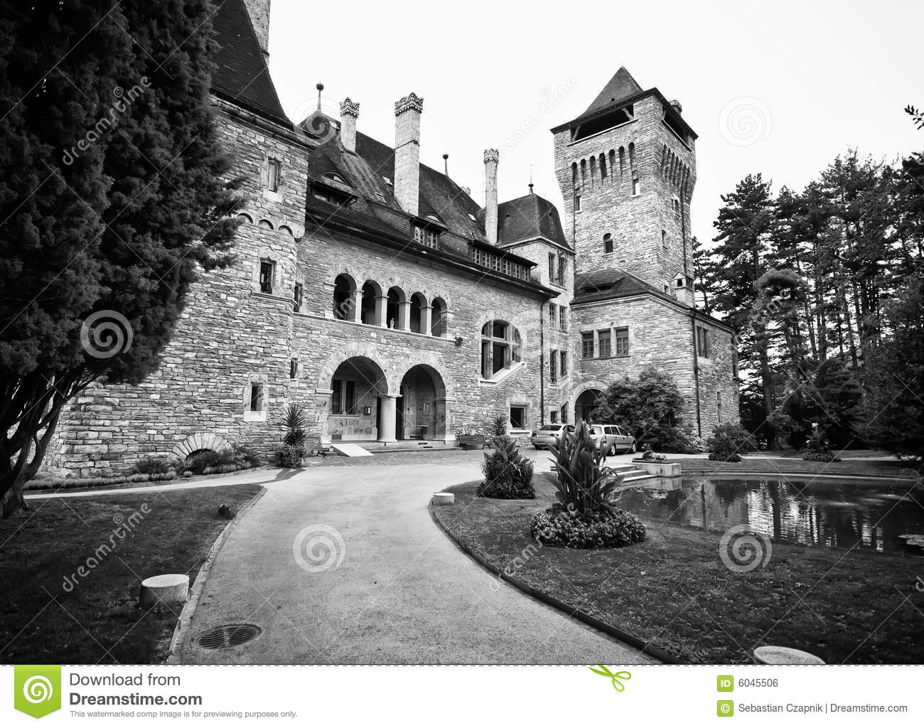 Swiss chateau