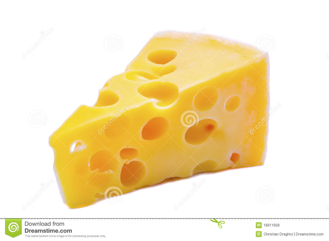 swiss cheese with holes