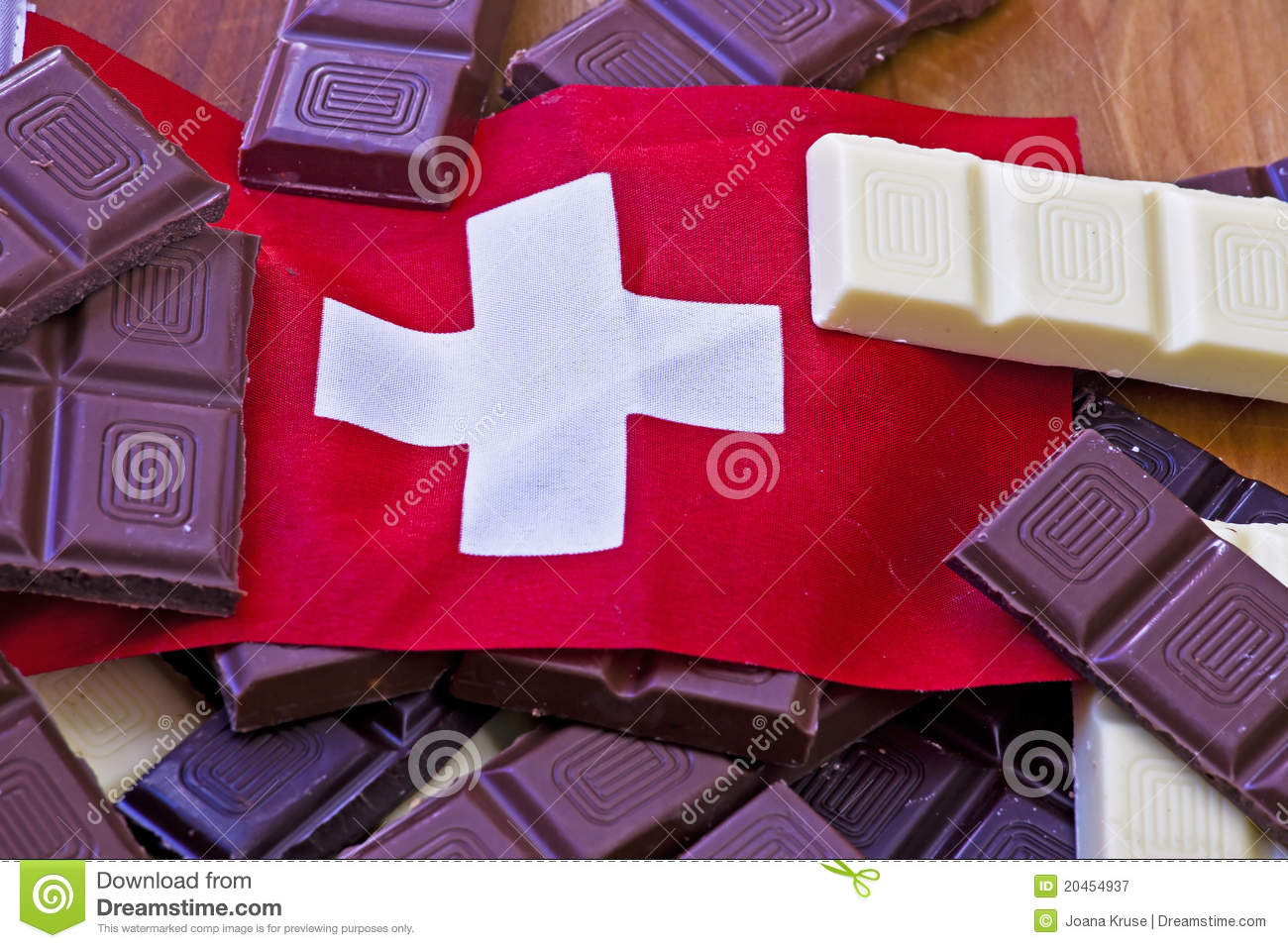 Swiss Chocolate Royalty Free Stock Photography Image