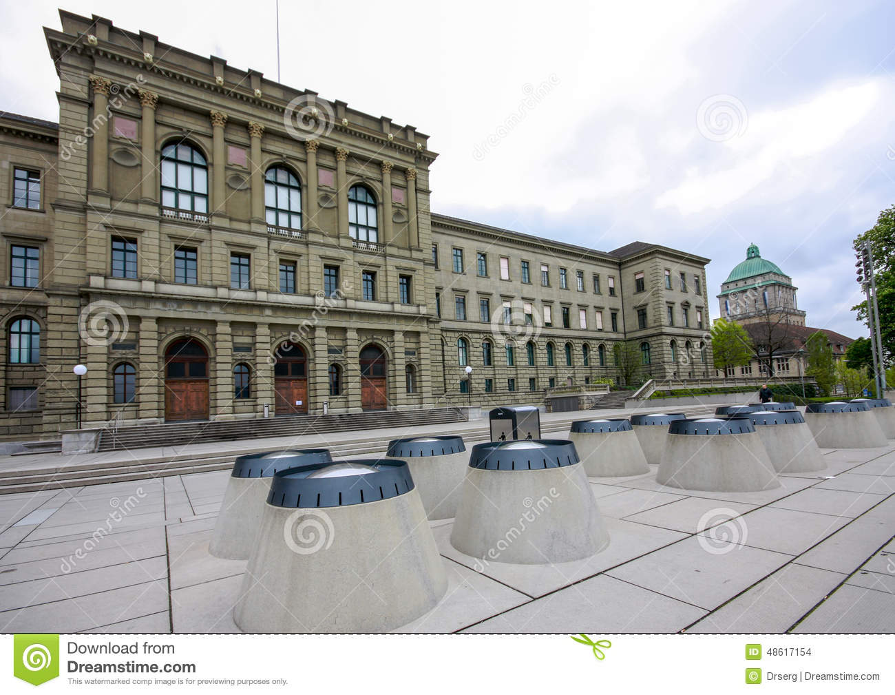 Swiss Federal Institute of Technology building in Zurich