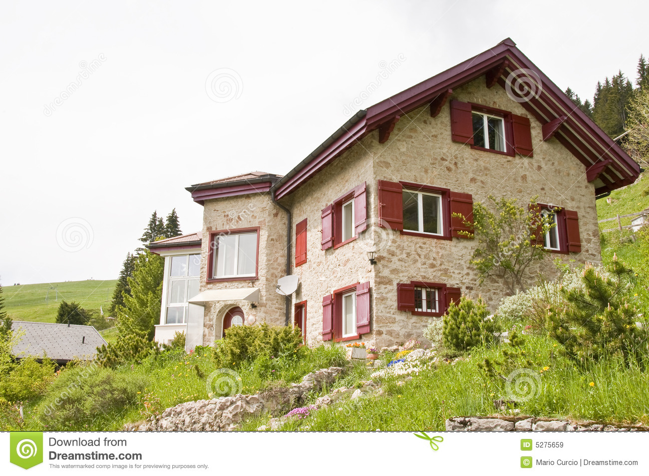 Swiss House Royalty Free Stock Images Image 5275659