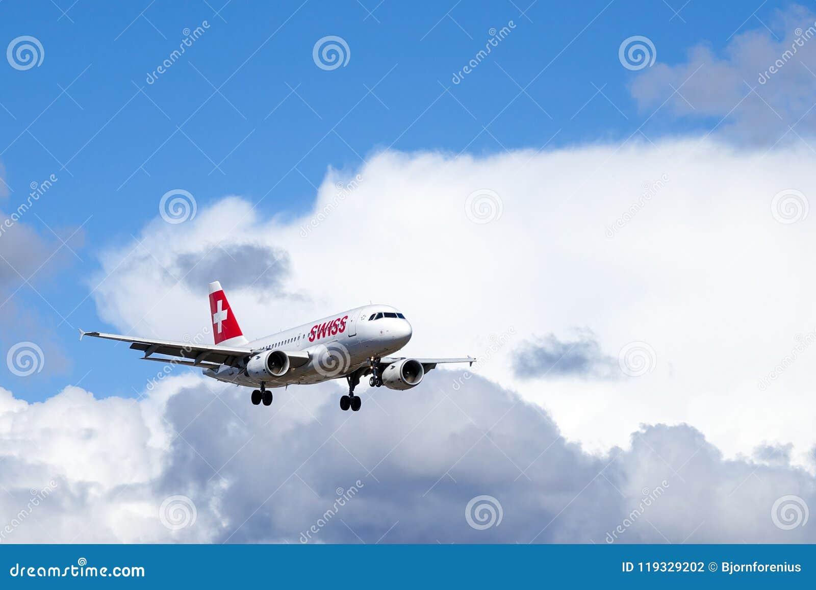 Swiss International Air Lines, Aerobus A319 - 112