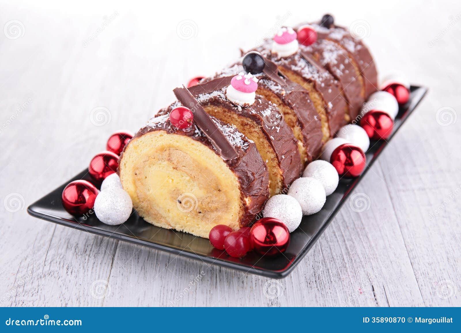 Swiss Roll Cake Decoration