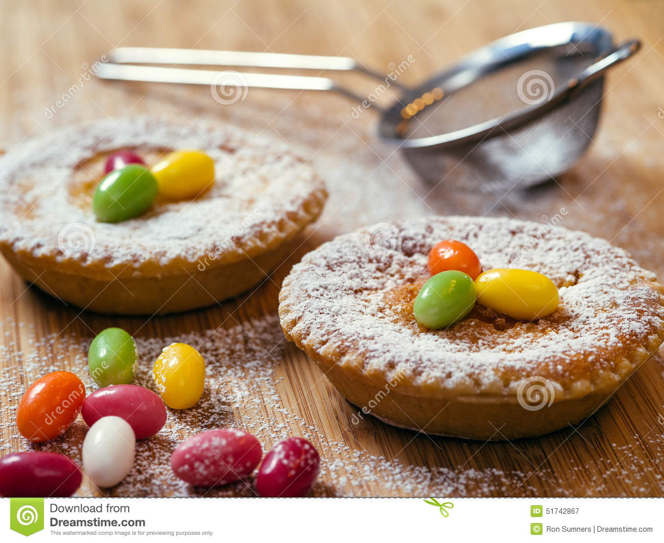 Photo of Oesterchuechli, a traditional Swiss Easter rice tart dessert.