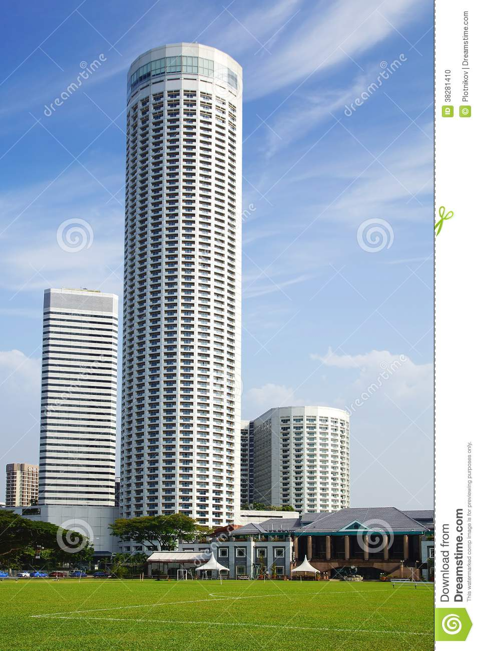 Swissotel the stamford editorial image image of landmark for Tallest hotel in singapore